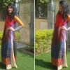 Thumbnail image for Outfit of the Day: The Colorblocked Kurta With Pallazos