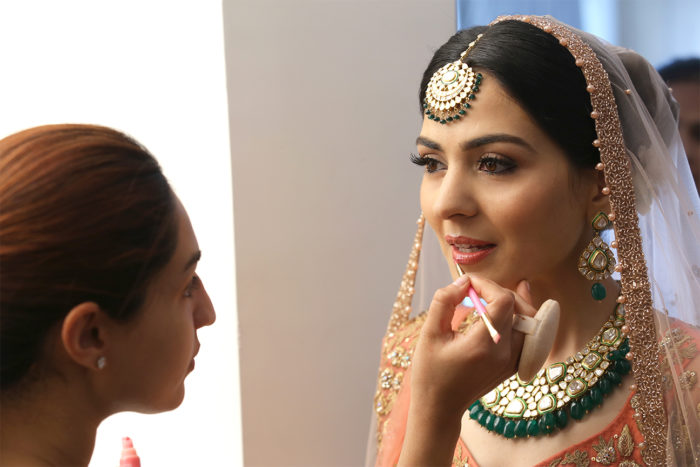 For those willing to spend between Rs 10-20k per function on Bridal Makeup :-
