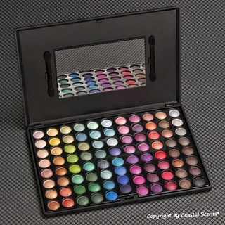 I'm in EyeShadow Heaven..88 Ultra Shimmer Pallette