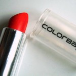Colorbar Velvet Matte Lipstick in 'Hot, Hot, Hot': Swatch, Review, Photos