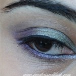 Green & Purple Eye Makeup :EOTD & Tutorial