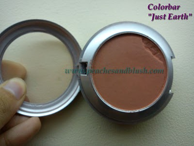Colorbar 'Just Earth' Blush : A Warm Natural Flush