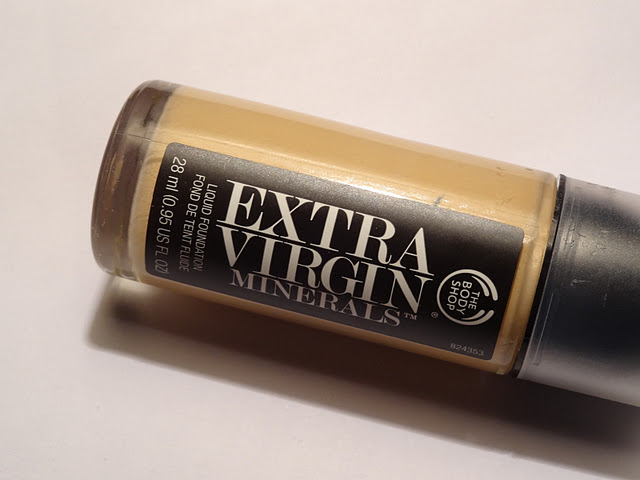 Body Shop Extra Virgin Minerals Foundation Review