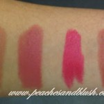 Lakme Lip Love Lipstick Shades & Swatches