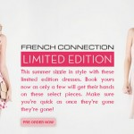 Press Note : French Connection India Launches Limited Edition Dresses