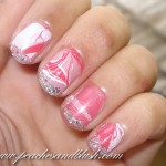Experiment With Nail Paint Marbling: Strawberry Swirls