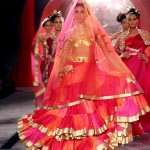 Suneet Verma at Delhi Couture Week: Makeup and Fashion Show Photos
