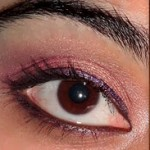 Sunset Eye Makeup Tutorial : Gold , Pink , Purple