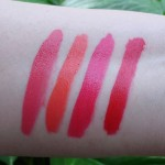 Coastal Scents Power Play Lip Quad : Swatches, Review, Photos