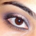 Purple and Gold Eye Makeup Look Of the Day