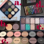 Five Versatile Eyeshadow Palettes: Friday's 5 !