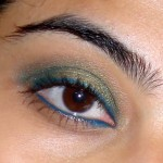 Fun Evening Greens: Simple Eye Makeup Tutorial