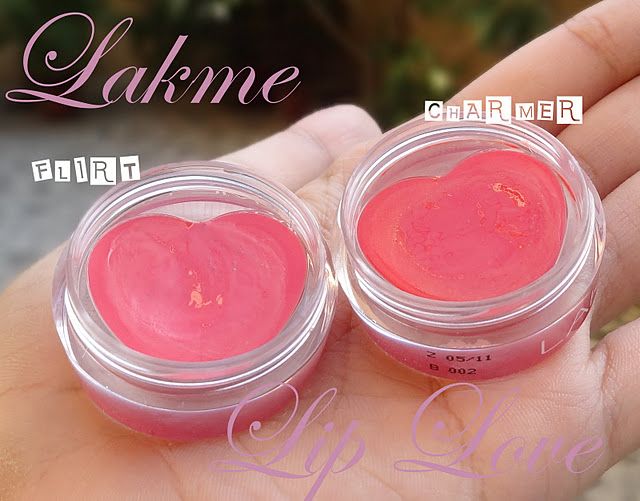 Lakme Lip Love Conditioner Flirt, Charmer: Review, Swatches, Photos