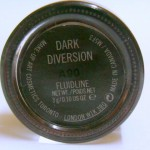 Mac Dark Diversion Fluidline :Swatch, Review, Photos