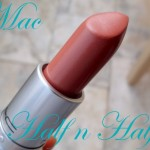 Mac Half n Half Lipstick Review & Swatches