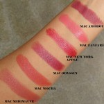 Mac Lipstick Swatches: Part 4