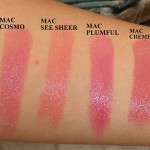 Mac Lipstick Swatches Recap: 55 Mac Lipsticks Swatched