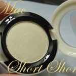 Mac Short Shorts Eyeshadow (Surf Baby Collection): Swatch, Review, Photos