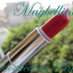 Maybelline Hooked on Pink Lipstick : Swatch, Review, Photos