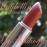 Maybelline Colorsensational Lipstick in My Mahogany: Swatch, Review , Photos