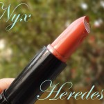 Nyx Herades Lipstick Swatch, Review