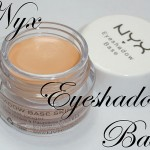 Nyx Eyeshadow Base Review