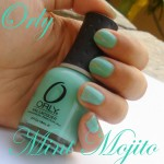 Orly Mint Mojito : Two Favourite Things in Nail Paint Form !