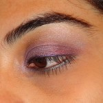 A Purple Eye Makeup Look In A Rush..