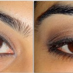 A Simple Smokey Eye Tutorial : Peach, Gold & Black