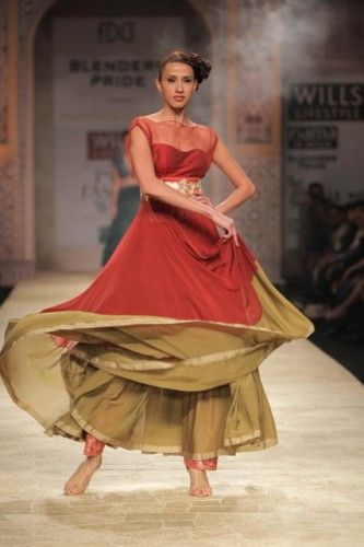 Wills Lifestyle India Fashion Week 2012 Manish Malhotre