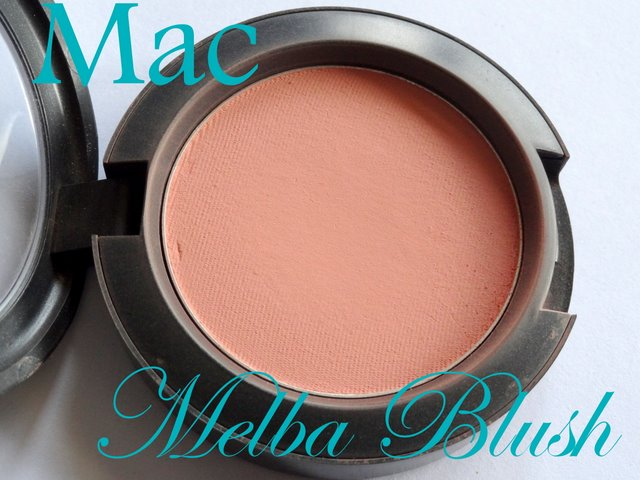 Mac Melba Blush Swatch , Review