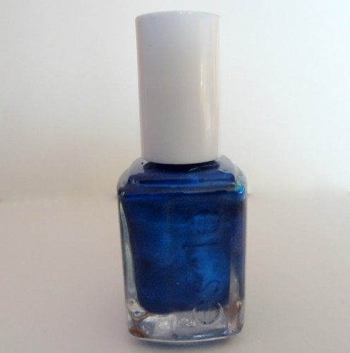 Essie Aruba Blue Nail Polish Swatch, Review