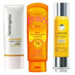 Summer Sunblocks: New Launches by Lotus, Neutrogena & Lakme.