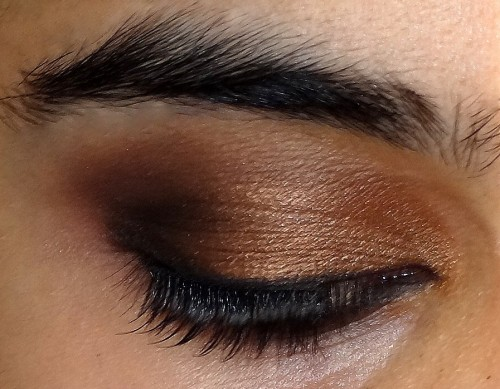 A Golden Bronze Smokey Eye Tutorial