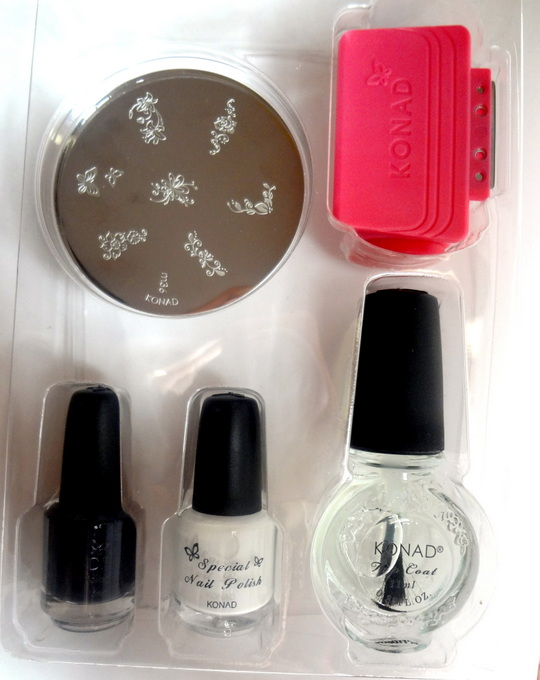 Konad Stamping Nail Art Kit Review & How to