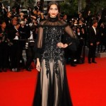 Sonam Kapoor at Cannes 2012 : Alexander Mc Queen