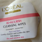 L'oreal Re Nourish Face Wipes Review