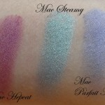 Mac Eyeshadow Swatches : Part 1