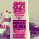 Original Source Vanilla Milk and Raspberry Shower Gel