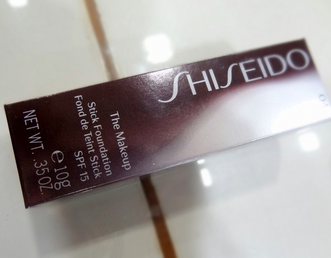 Shiseido Stick Foundation Review