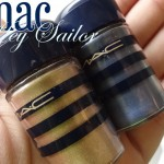 Mac Hey Sailor Pigments in Old Gold & Naval