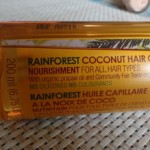 The Body Shop Rainforest Coconut Oil Review