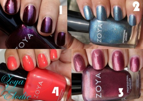 4 Great Zoya Nail Polishes