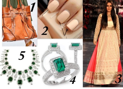 Lust List: Cremes and Emeralds