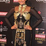 Sonakshi Sinha at the Colors Screen Awards  2013