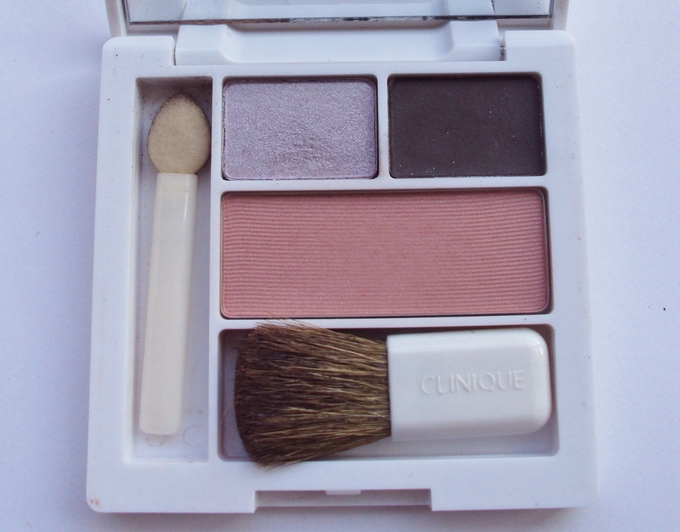 Clinique Eyeshadow & Blush Pallette: Swatches & Review