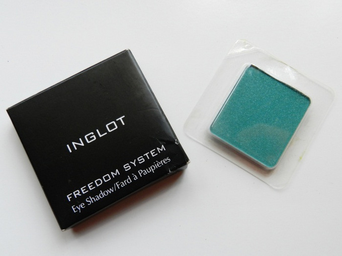 Inglot Freedom System Eyeshadow DS 504 : Swatches & Review