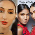 Revlon on the Runway: Crimson Lips & Contoured Eyes at Luca Luca
