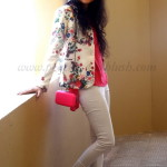 Outfit of the Day: The Floral Blazer