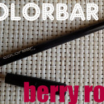 Colorbar Lip Definer Pencil Review & Swatches: Berry Rose